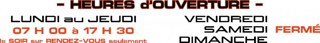 Logo heures d'ouvertures